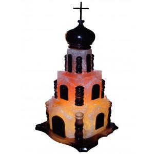 Соляная лампа Церковь 15-18 кг.