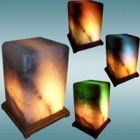 Соляная лампа Прямоугольник 4-5 кг.